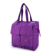Quality Large women Nylon shoulder travel Bag with long and adjustable strap wholesale