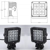 Quality 80 Watt Vehicle LED Work Lights with Die Casting Aluminum Body IP68 wholesale