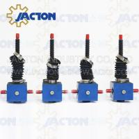 Quality Durable Lifting JTC25 25kn Manual or Auto Custom Stroke Lowering Screw Jack wholesale