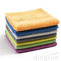 Buy cheap Non - Abrasive Microfiber Cleaning Towel Easy Carrying  For Home 30 * 30cm from wholesalers