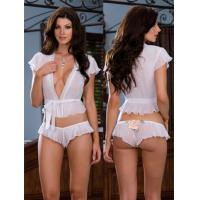 China Sheer Satin Eco Friendly Knot Personalised Bridal Underwear on sale