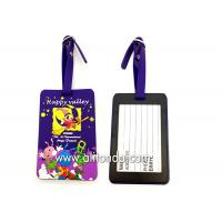 Quality Soft PVC rubber luggage tag supply personalized luggage tag custom wholesale
