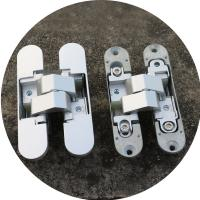 Buy cheap 3d concealed hinges Zamac invisible hinge 180 degree adjustable hinges from wholesalers
