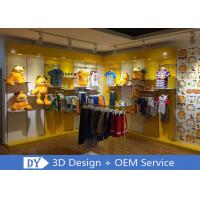 Quality Nice Fresh Wooden Lacqer Children's Boutique Store Fixtures With Led Lighting wholesale