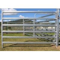 China Custom Size Livestock Portable Cattle Fence Panels Square / Round / Oval Shape on sale