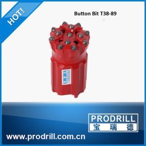 Quality T38-89mm 13 Buttons Drop Center Thread Bit wholesale