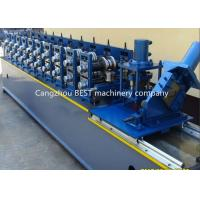 Quality Steel Garage 2' And 3' Track Door Guide Roll Forming Machine 3kw Motor Power wholesale
