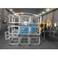 Quality VFC Control Rack and Pinion Building Site Hoist 2000kg Capacity with Mast Hot-dip Galvanized wholesale