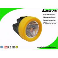 Buy cheap Cordless LED Underground Mining Cap Lamps 143lum 10000lux With 15 Hours Backup from wholesalers