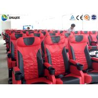 Quality Adult / Children 4DM Motion Cinema Chair With Cup Holder And Footrest wholesale