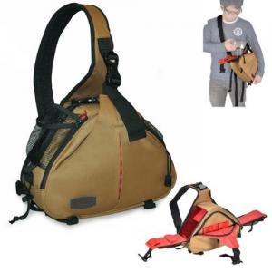 Quality Caden K2 Shoulder camera Bag Triangle Carry Case (Khaki) for DSLR Sony Canon Nikon Camera wholesale