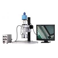 China VGA Color Camera 3D Stereo Zoom Video Microscope with Magnification 25X-152X on sale