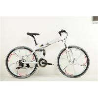 Quality High grade disc brake Shimano 21/ 24/27 speed 26 inch alloy  folded mountain bike with mag wheel wholesale