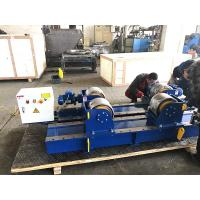 Buy cheap 30T Conventional Pipe Welding Rotator With Pu Wheels Electric Control,Tank Turning Rolls from wholesalers
