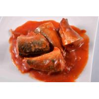 Buy cheap CANNED MACKEREL IN TOMATO SAUCE 425/240G from wholesalers
