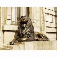 China Bronze Lion Sculpture, Plaster Mold and Lost Wax Casting, Copper Sculpture, Bronze Statues on sale