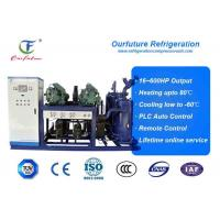 Quality R404a Bitzer brand screw type parallel compressor racks for fruit processing wholesale