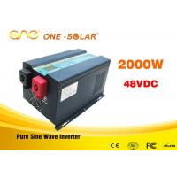 Low frequency pure sine wave ups intelligent power inverter 2000w 12v 24v 110v with charger