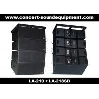 "Quality Concert Sound Equipment / 580W Line Array Speaker With1.4""+2x10"" Neodymium Drivers wholesale"