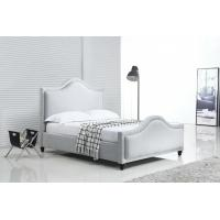 Quality Silver Crushed Velvet Bed With Diamonds Customized Service OEM Service wholesale