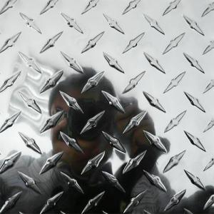 China 3003 H22 Aluminum Diamond Tread plate sheet / checker plate in China on sale