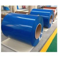 Cheap Building Pvdf Color Coated Aluminum Coil 900 - 1500mm Width High Strength for sale