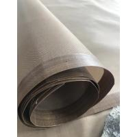 Quality TEFLON COATED OPEN MESH CONVEYOR BELT for Separating sheet for hardboard production kevlar  4*4mm wholesale