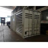 Quality 1500 KVA Containerized Diesel Generator Sets For Emergency Power Electric Starter 24V wholesale