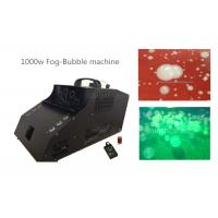 Quality 1000 Watt Fog Bubble Machine With 6*3w LED / Timer / Remote Control wholesale