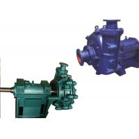 Quality Low Pressure Electric Slurry Pump / Slurry Sump Pump One Stage Structure WA wholesale