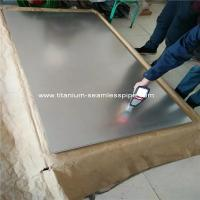 Quality ASTM B265 cold rolled  gr5 ti6al4v titanium sheet metal titanium plate price per kg  for sell wholesale