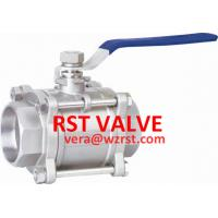 China STAINLESS STEEL 3PC BUTT-WELDING BALL VALVE, BW,1000WOG on sale