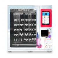 China nail polish cosmetics vending machine with x-y axis elevator and adjustable channel width function on sale