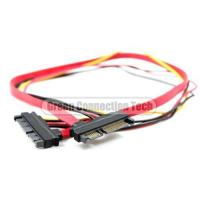 China 15+7 Pin SATA Male to Male on sale
