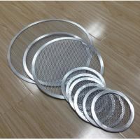Quality FDA Stainless Steel Barbecue Grill Netting Screen / Mesh Pizza Trays Free Sample wholesale