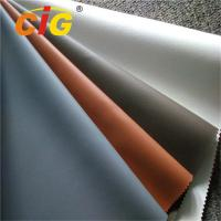 Quality PVC Upholstery Leather From 0.6MM To 1.2MM Waterproof And Colorful wholesale