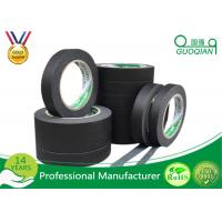 China Low Stretch Black Colored Masking Tape waterproof For Painting / Decorative on sale