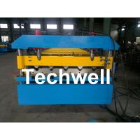 Quality Iron Metal Roof Sheet Roll Forming Machine With Manual Or Hydraulic Uncoiler wholesale