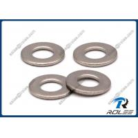 China 304 / 316 / A2 / A4  DIN125 ANSI Stainless Steel Flat Lock Washers on sale