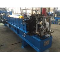 Quality 1.5mm Z  Purlin Cold Roll Forming Machine 14 Stations with 1.2 inch Chain wholesale
