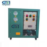China Explosion Proof Refrigerant R290 Oil Less Recovery Machine Green on sale