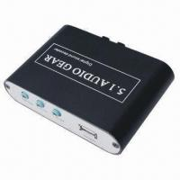 Quality DTS/AC-3 Digital Audio Decoder, Output 3 x 3.5mm Jack (DTS/AC-3), Used 24-bit Audio DSP, 96kHz wholesale