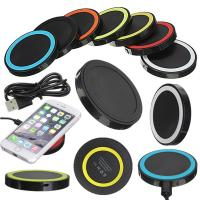 Quality Desktop Mobile Phone QI Fast Wireless Charger , Universal Micro Usb Charger wholesale