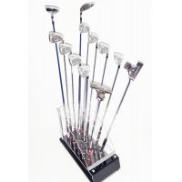 Cheap High Quality custom Golf Club Display Stand (12 Golf's Club Storage) Camber Acrylic for sale