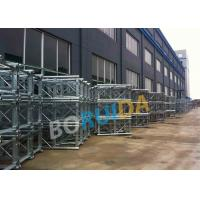 Quality Aluminum Construction Material Hoist Up Ramp Door Style 3.2mx1.5mx2.5m Cage Size wholesale