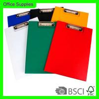 China Double side cardboard clip file A4 size,board clip,foldable writing board for sale