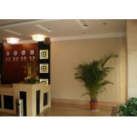 Quality Coffee WPC Wall Cladding / Interior Decoration Ceiling Panel For Boardwalk wholesale