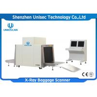 Quality Dual View Screen Big Size X-Ray Baggage Inspection Machine/ Airport Luggage Scanner wholesale