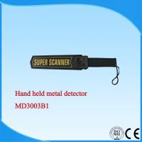 Cheap HandHeld Portable Metal Detector , security metal detector wand MD3003B1 for sale