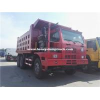 Buy cheap 70 Tons Howo Mining Dump Truck ZZ5707S3840AJ 32m3 Body Half Cabin for Nickel Minerals from wholesalers